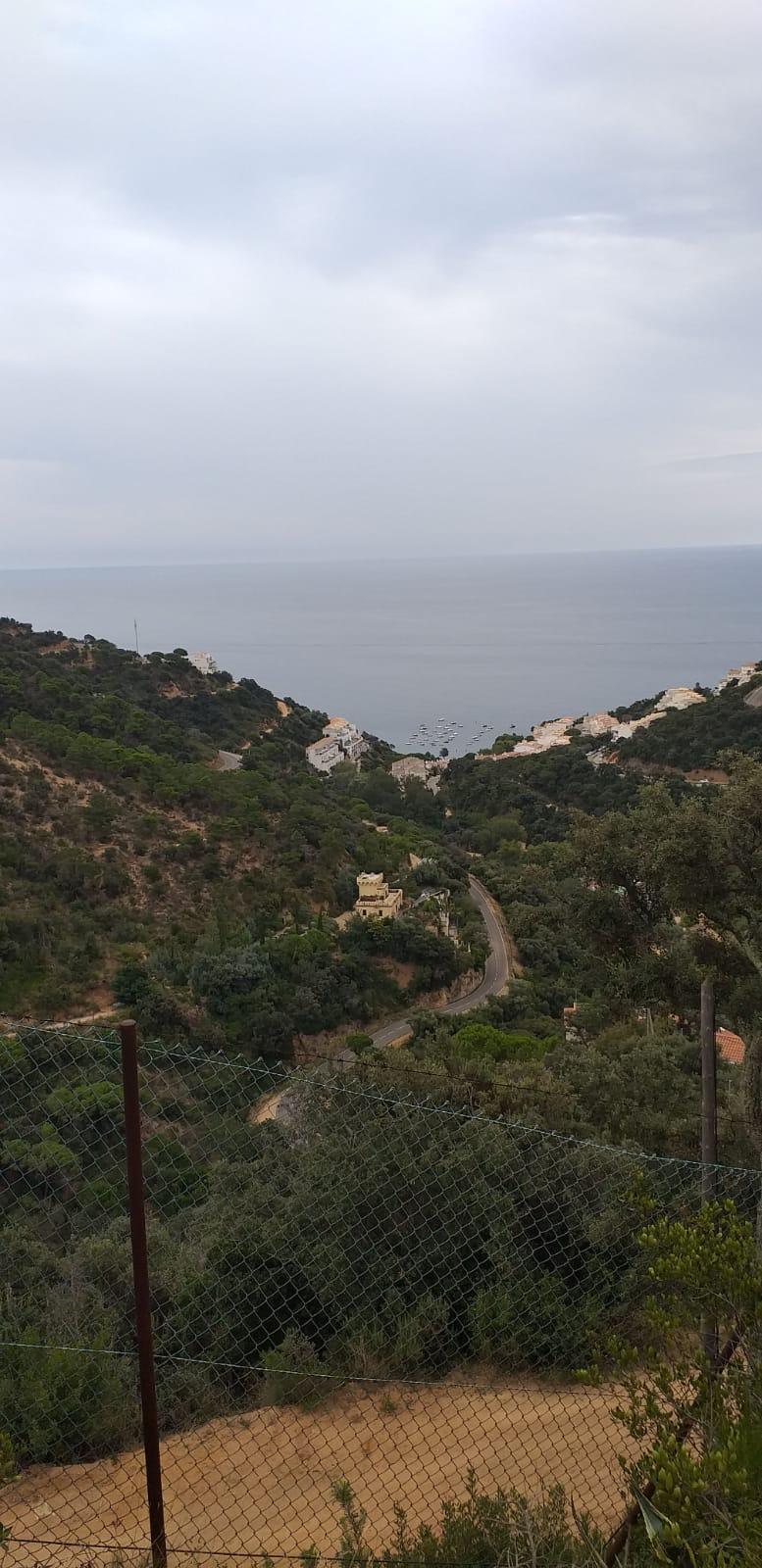 Una casa con vista al mar en Cala Salionç